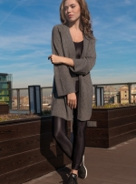 Кардиган Coat Melange grey
