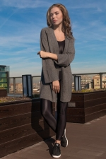 Кардиган Coat Melange grey