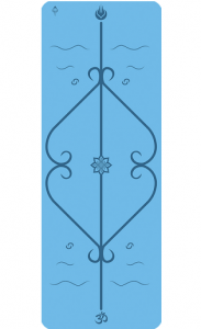 Мат для йоги Lepomate yoga mat синий