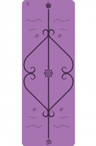 Мат для йоги Lepomate yoga mat фиолетовый