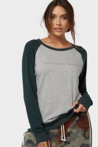 свитшот женский серый купить