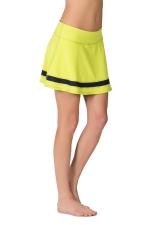 Юбка-шорты для тенниса Motion лимонный