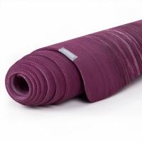 Коврик для йоги из натурального каучука Samurai Marbled фиолетовый