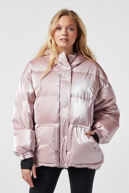 Пуховик Cortina Розовый