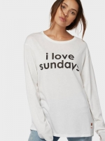 Свитшот I Love Sundays