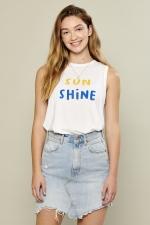 Топ Whitney Sunshine White