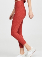 Легинсы High Waisted Midi red