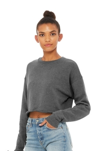 Свитшот Cropped Fleece Deep Heather