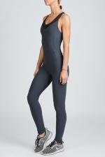 Комбинезон для фитнеса и йоги Sport Angel серый