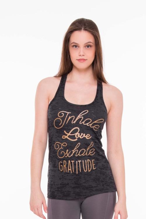 Топ Gratitude черный