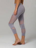 Капри спорт Mesh Cut Out Capri Grey